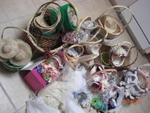Huge lot of ribbons, baskets, vases, flowers, etc in Yucca Valley, California