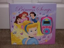 Disney Princess Play A Song Book in Oswego, Illinois