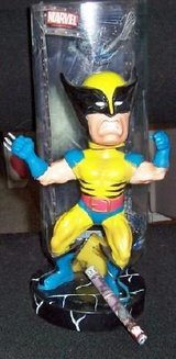 Xmen Wolverine Bobble w/COA in Chicago, Illinois