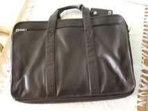 TUMI brown leather briefcase in Bartlett, Illinois