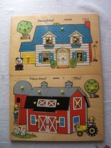 2 vintage Fisher Price Puzzles in Bartlett, Illinois