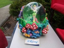 tinkerbell music globe-disney store-collectable in Wilmington, North Carolina