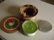Christmas Tin w/3-Wick Glade Candle in Houston, Texas