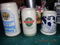 beer -mugs collect in Ramstein, Germany